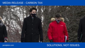 Carbon Tax. There are better ways to fix the environment.