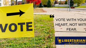 Vote with your heart, not with fear.