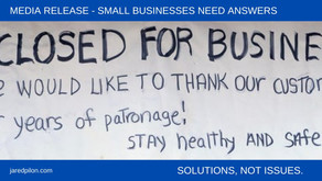 SMALL BUSINESSES NEED ANSWERS