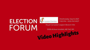 Innisfail Candidate Forum Video Highlights