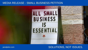 All Small Business is Essential: Petition