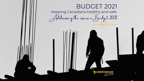 BUDGET 2021: KEEPING CANADIANS HEALTHY AND SAFE