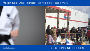 SPORTS = NO. COSTCO = YES.