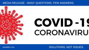 COVID-19. Many questions. Few answers.