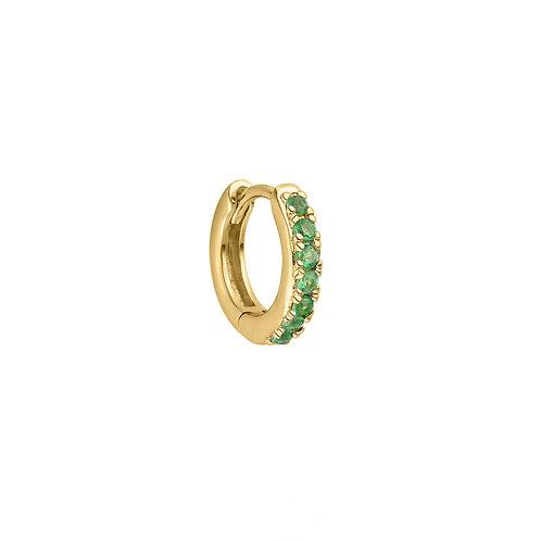 Gold Vermeil 10mm Cara Huggies Hoop Earring
