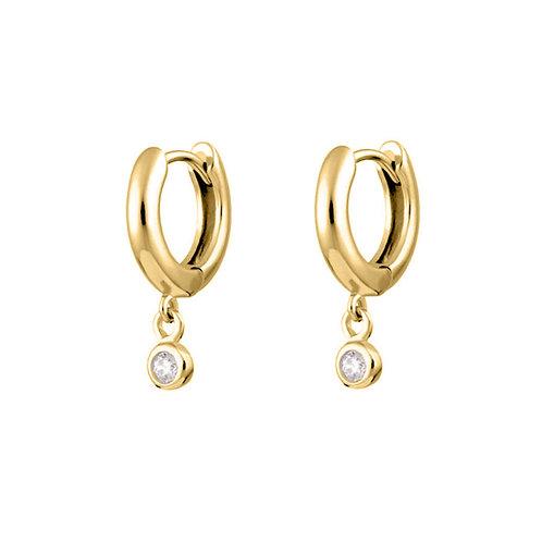 Gold Vermeil Mini Drop Kate Huggies