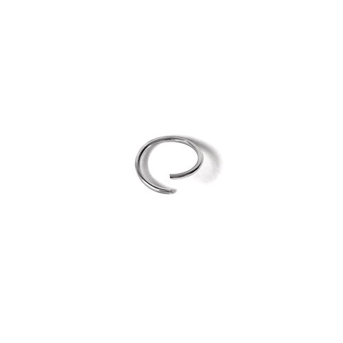 Sterling Silver 10mm Bendy Nose Ring