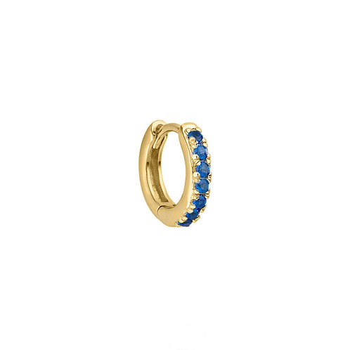 Gold Vermeil 10mm Jill Huggies Hoop Earring
