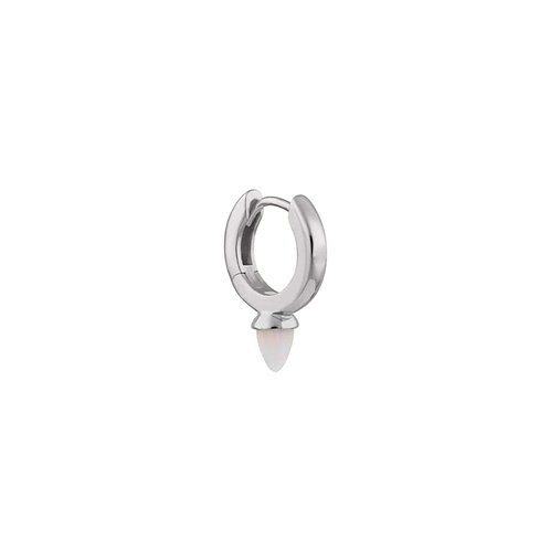 Silver Mini Freddie Opal Drop Clicker