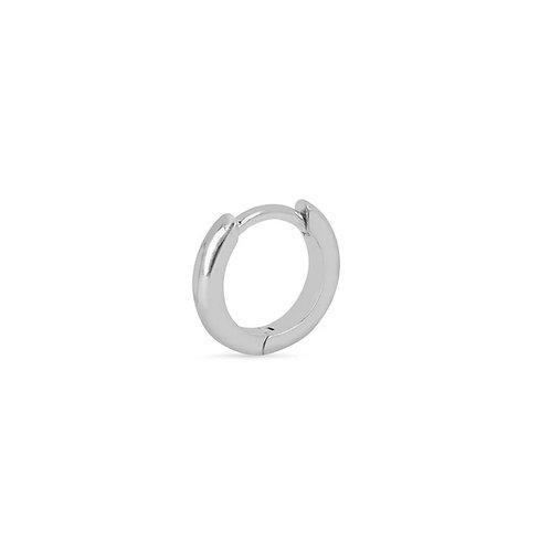 Sterling Silver 9mm Clicker Hoop Earring