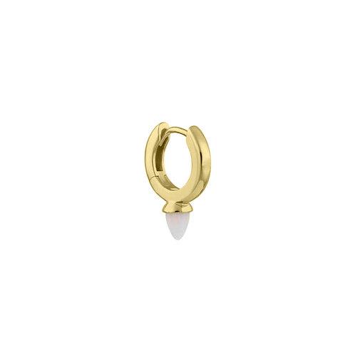 Gold Vermeil Mini Freddie Opal Drop Clicker