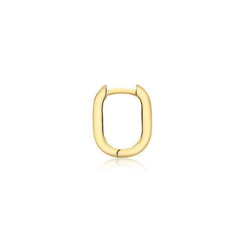 9ct Yellow Gold Estee Huggie Click Hoop