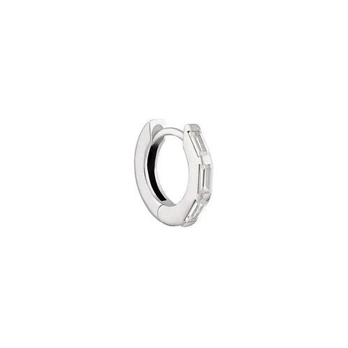 Sterling Silver 10mm Lola Huggies Hoop Earring
