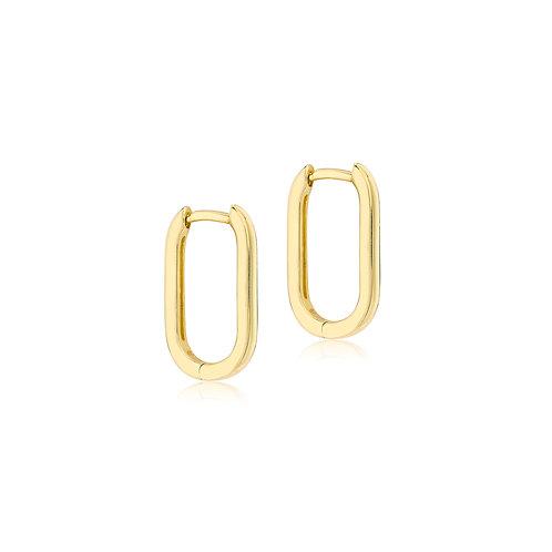 9ct Yellow Gold Estée Long Luxury Huggies