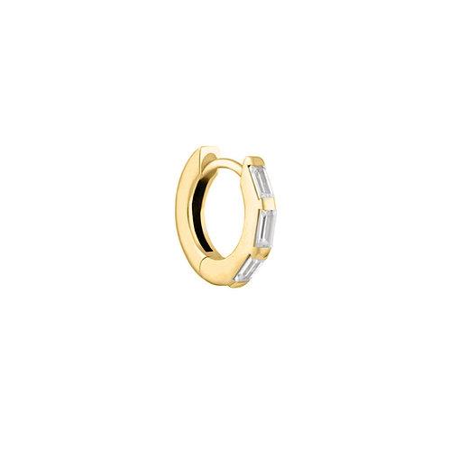 Gold Vermeil 10mm Lola Huggies Hoop Earring