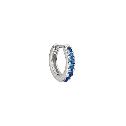 Sterling Silver 10mm Jill Huggies Hoop Earring