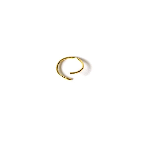 Yellow Gold Plated 10mm Bendy Nose Ring