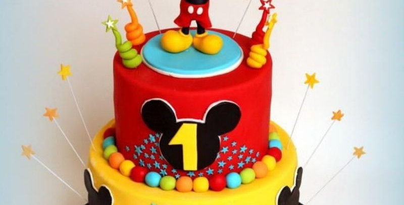 Micky Mouse Theme Based Cake