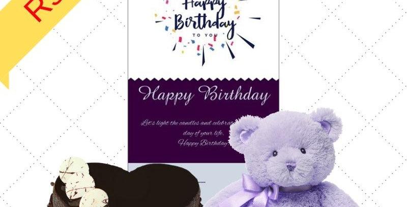Gift Combo Cake & Teddy