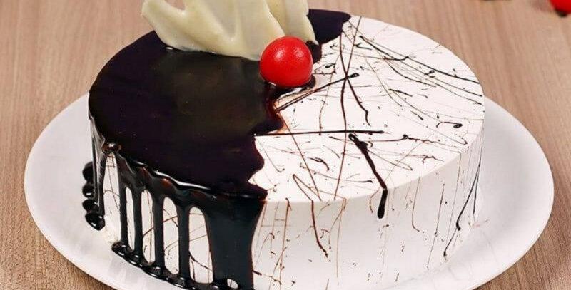 Special Vanilla Choco Cake