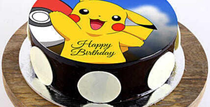 Pikachoo Photo Cake