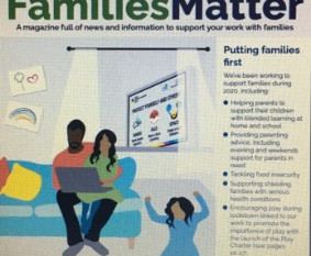 Attached is a really helpful magazine for parents from Tower Hamlets Families Matter.