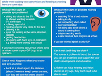 Is your child in Reception or Year 1? Have they had their eyes and hearing teasted?