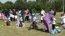 Hague & Stewart Headlam EYFS Sports Day on Weavers Field
