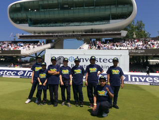 Visit to Lords Test Match