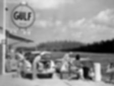 Historic View of the Lauderdale Marina Fuel Dock from 1949