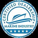 Emblem of Marine Industry Certified Dealership