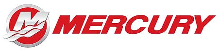 Mercury Marine Outboard Boat Engine Service Logo