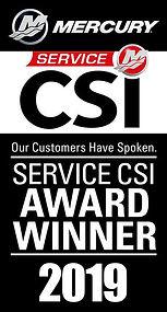 2019 Mercury CSI Award Banner