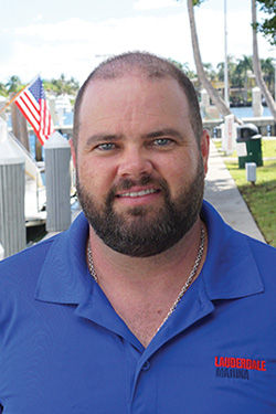 Tom Shelton, Boston Whaler specialist at Lauderdale Marina