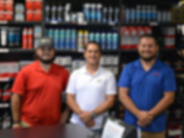 Lauderdale Marina Parts Department Team Members