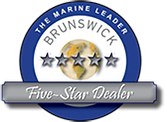 Brunswick Corporation Emblem for Marine Leader Five-Star Dealer