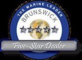 Brunswick Corporation Emblem for Marine Leader Five-Star Dealer