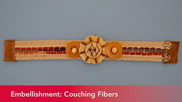 Couching Fibers