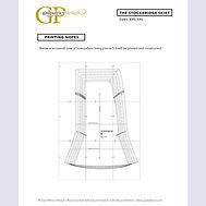 Stockbridg Skirt Downloadable Pattern Printing Guide