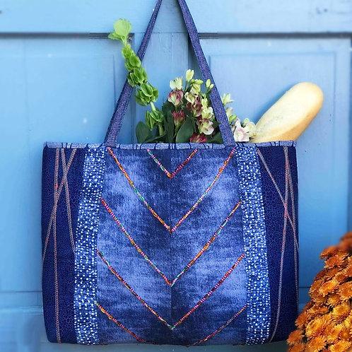Gail's Favorite Serger Tote Bag Pattern (Downloadable)