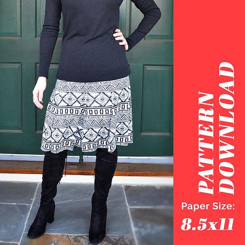 Stockbridge Skirt Pattern (US Letter)