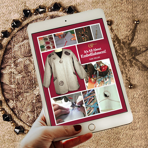 It's All About Embellishment E-Book