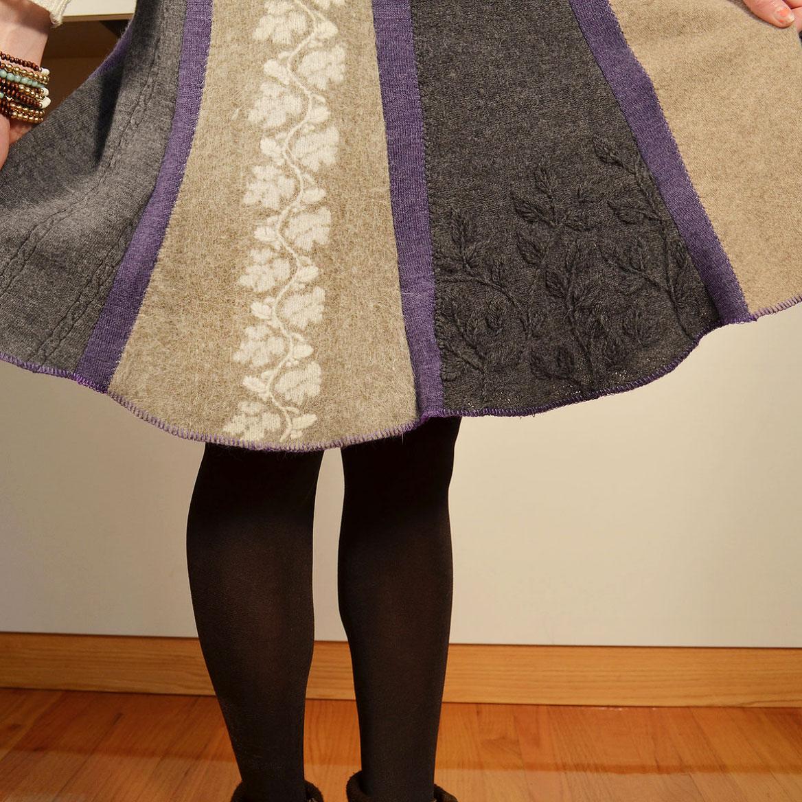 Stockbridge Skirt w/ Shaped Face Hem