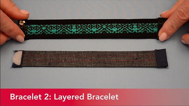 Serger Bracelet 2 Layered