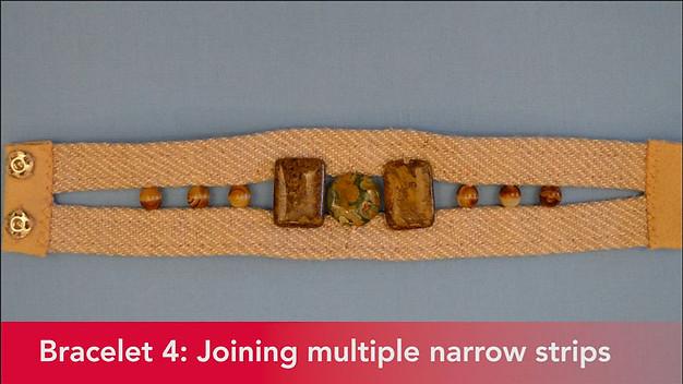 Serger Bracelet 4 joining multiple strips