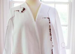 White Jacket Front