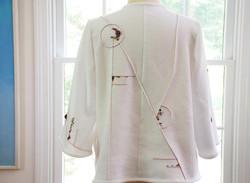 White Jacket Back