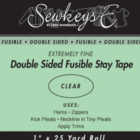 Double Sided Fusible Stay Tape