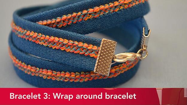 Serger Bracelet 3 Wrap-around