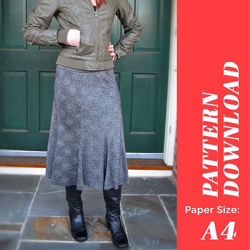 Stockbridge Skirt Pattern (A4)